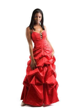 Röda klänning