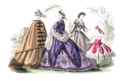 Vitorianska klänningar